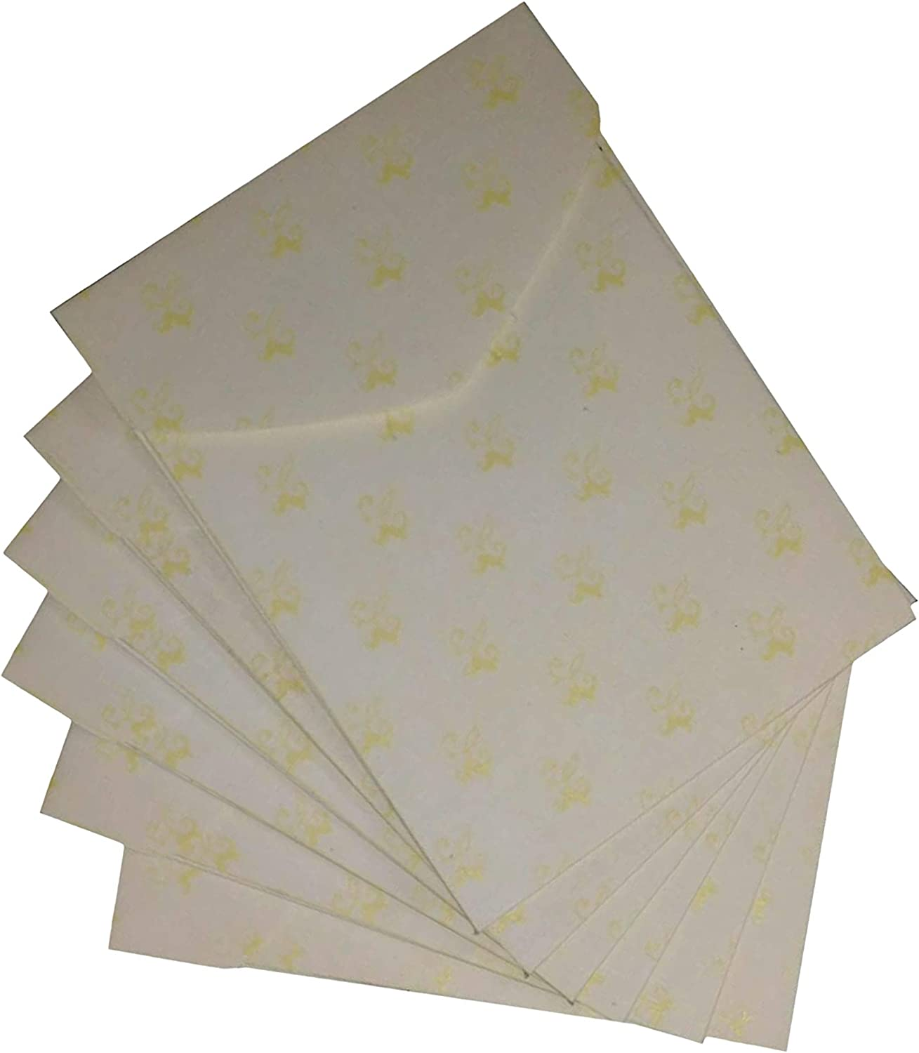 inch Approx IMPRINT Off White Royal Look Thick Sheet Small//Pocket Like Envelops 4.5 x 3.5 Pack of 20