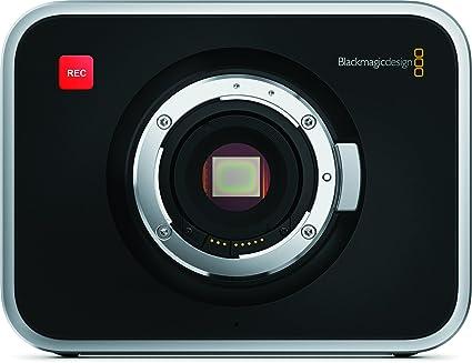 Amazon.com : Blackmagic Design Cinema Camera with EF Mount : Black ...