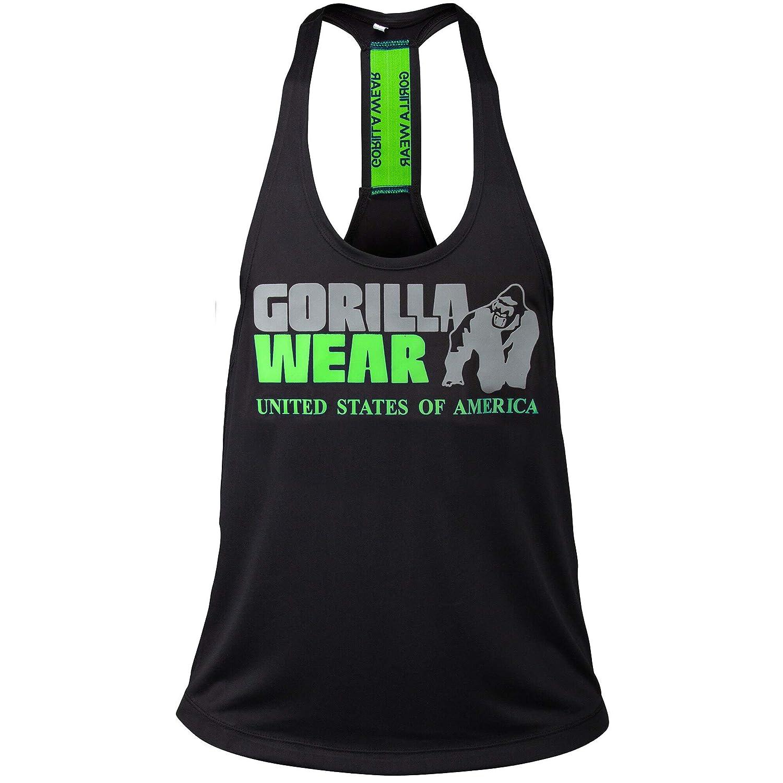 Nashville Hombres Stringer Tank Top Fitness Apparel Men Gorilla Wear
