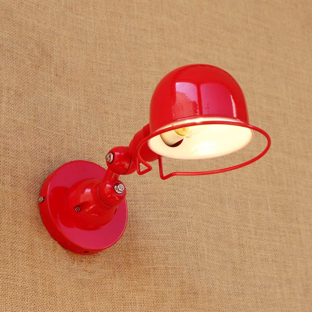 BXJ レトロ産業風クリエイティブ人格壁ライトアメリカンカフェ通路通路鉄装飾壁ランプ B07R4DR8NM