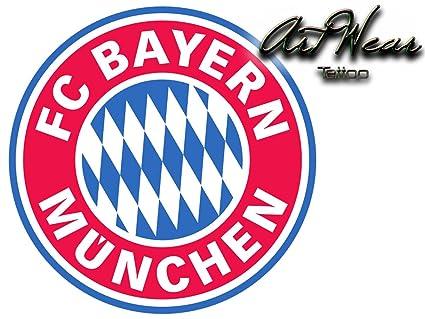 Tatuaje Temporal Equipe fútbol - Alemania Bayern Múnich - artwear ...