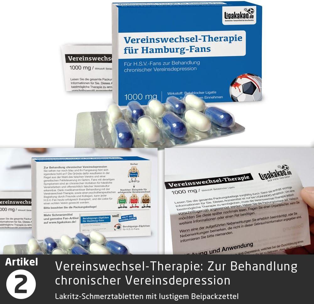 VERSTAND f/ür Hamburg-Fans F/ür Alle denen der Verstand von Hamburg-Fans am Herzen liegt hochdosiert helfen bei Keine Ahnung von Fu/ßball Fruchtgummi-Pralinen by Ligakakao.de