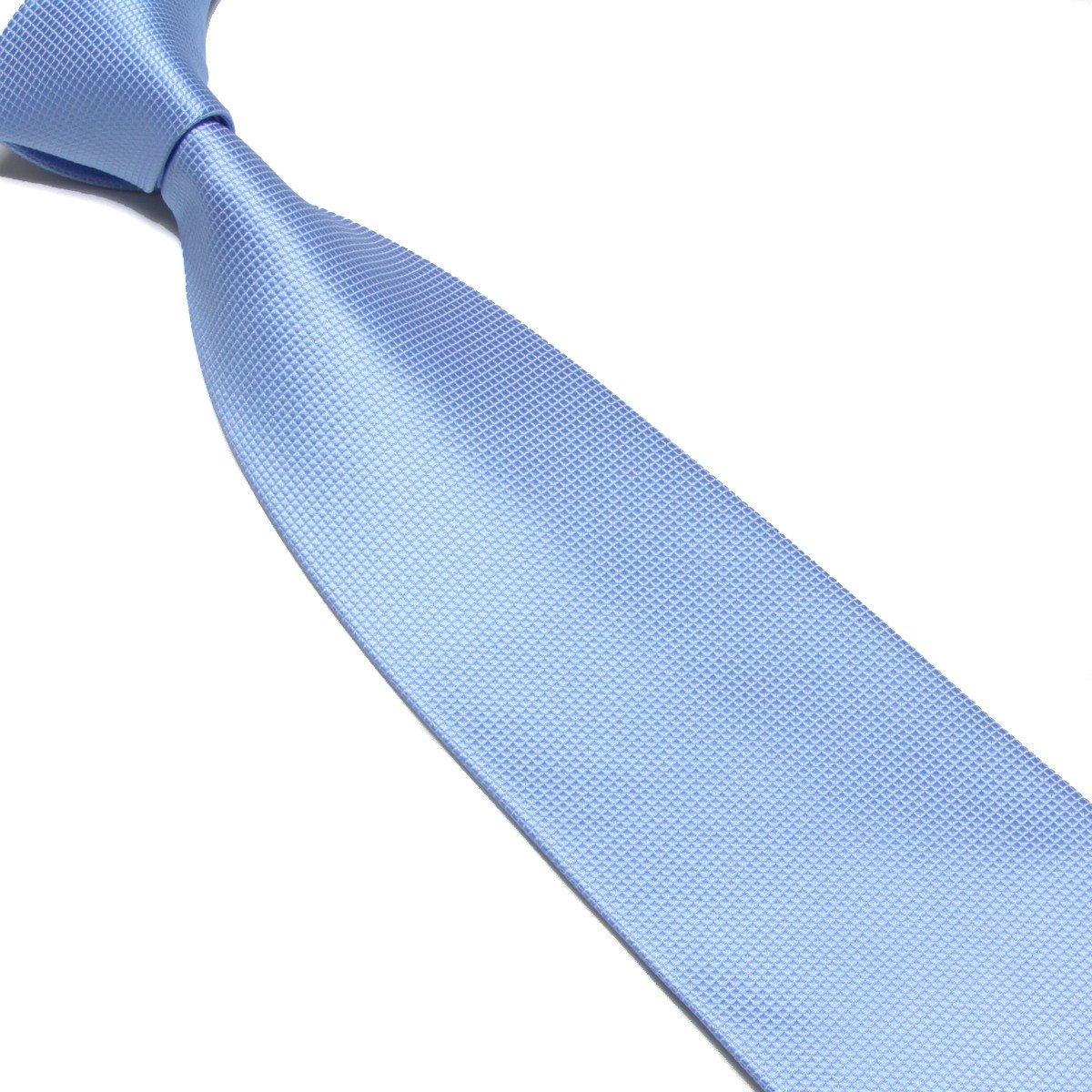 WERLM Business Mens Tie Pure Pigment Plaid Dress Tie 16 Color