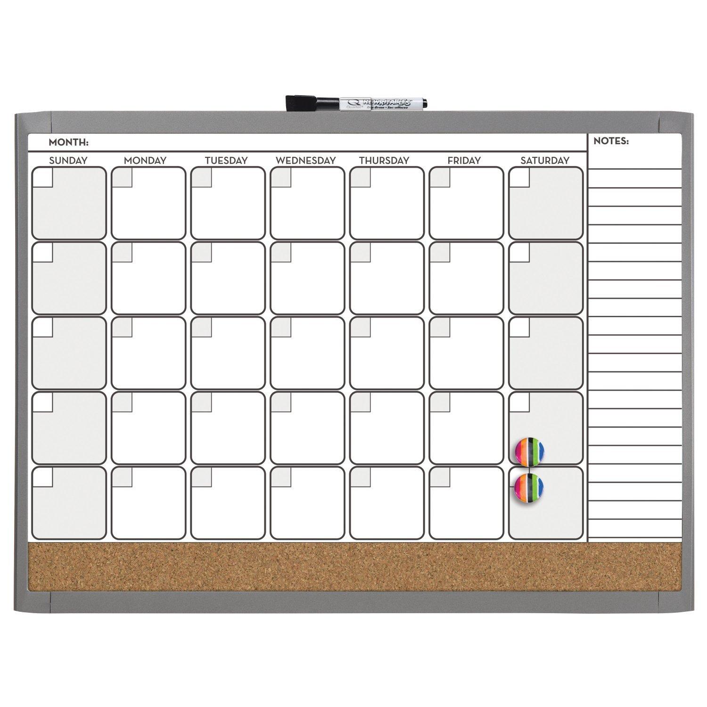 quartet dry erase board cork board calendar board