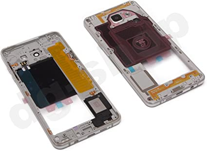 Blanco original Samsung Galaxy A5 (2016) sm-a510 F Medio LCD Marco ...