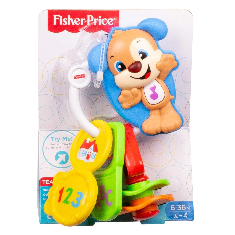 Fisher-Price fph57 Lachen und Lernen Zä hlen Go Schlü ssel Spielzeug Mattel 887961608366
