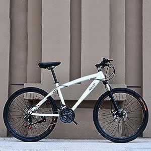 Adulto Bicicleta de montaña, de Alto Carbono Marco de Acero ...