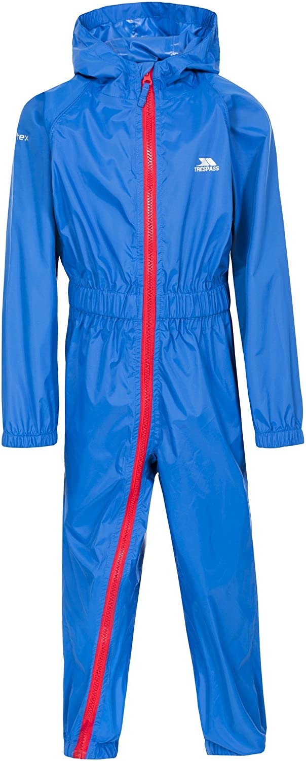 Tuta Impermeabile Bambino Regatta Professional Kids Paddle Waterproof /& Breathable Lightweight all-in-One Rain Suit with Safety Reflective Detail