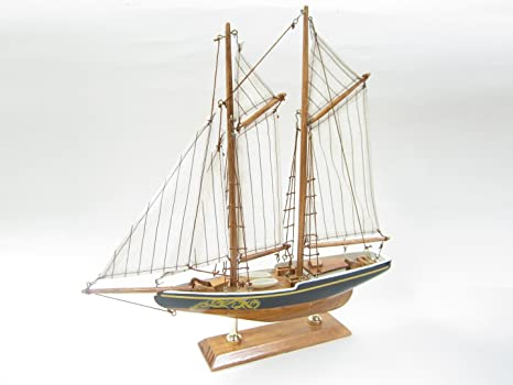 Bluenose Starter Boat Kit Build Your Own Wooden Model Ship By Tasma