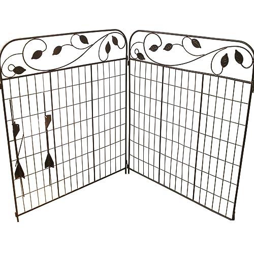 Metal Fence Panels Amazon Com