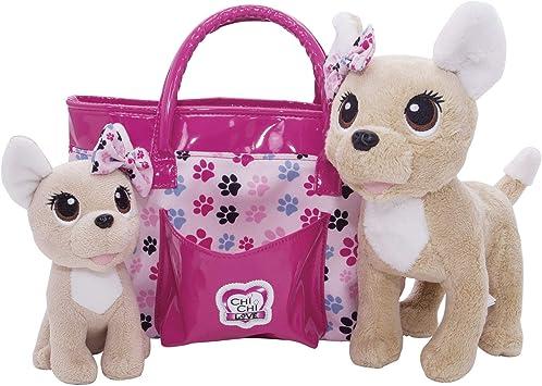 Oferta amazon: Baby Love perrito con bolso de Chi Chi Love (Simba 5893178)