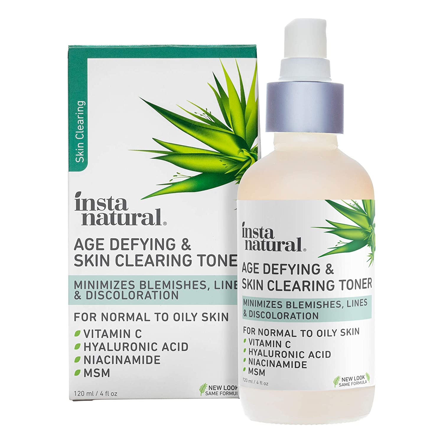 Insta Natural Age Defying and Skin Clearing Toner