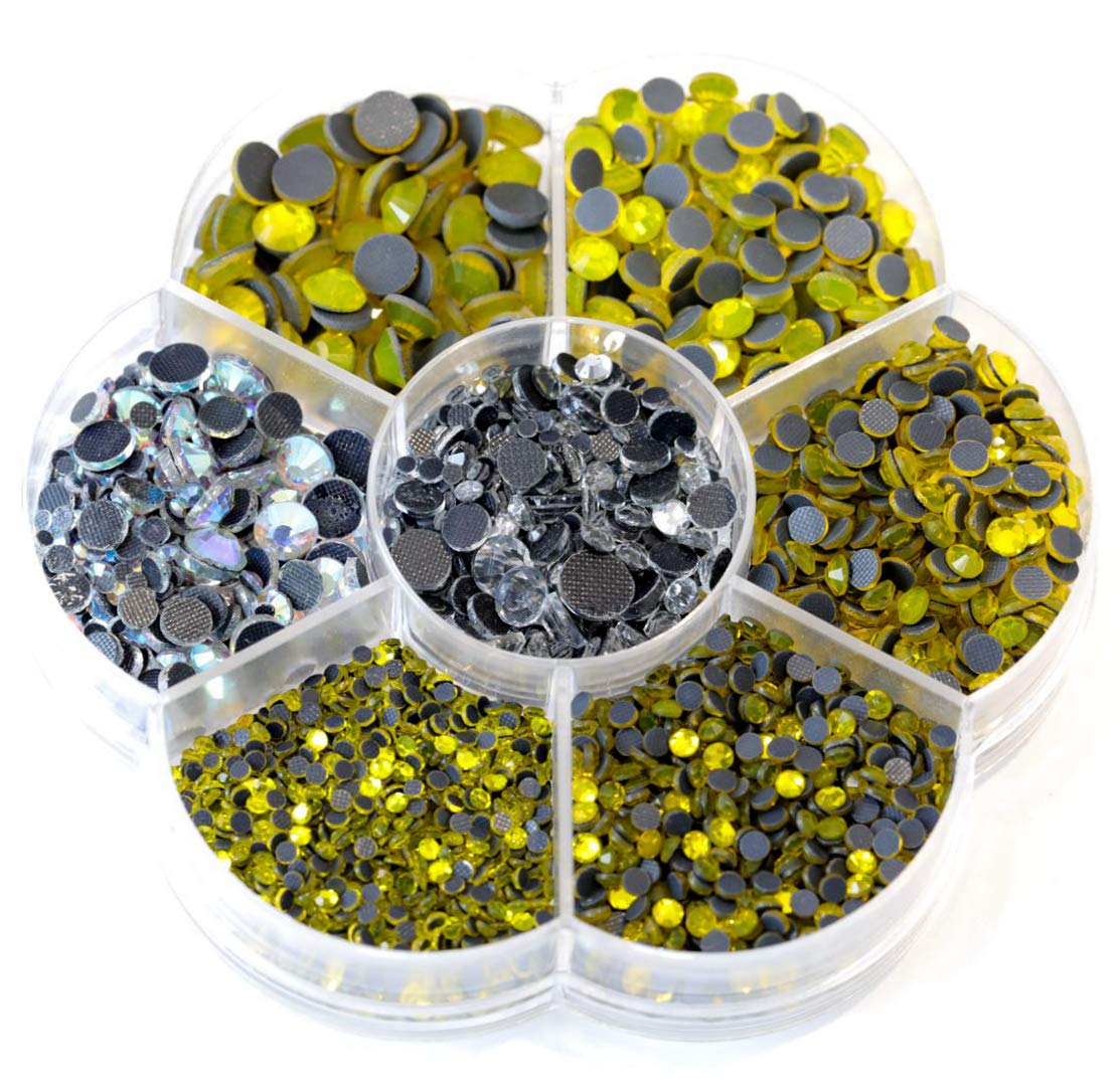 color rojo Blinginbox Juego de 3000 piedras de cristal AB DMC de varios tama/ños