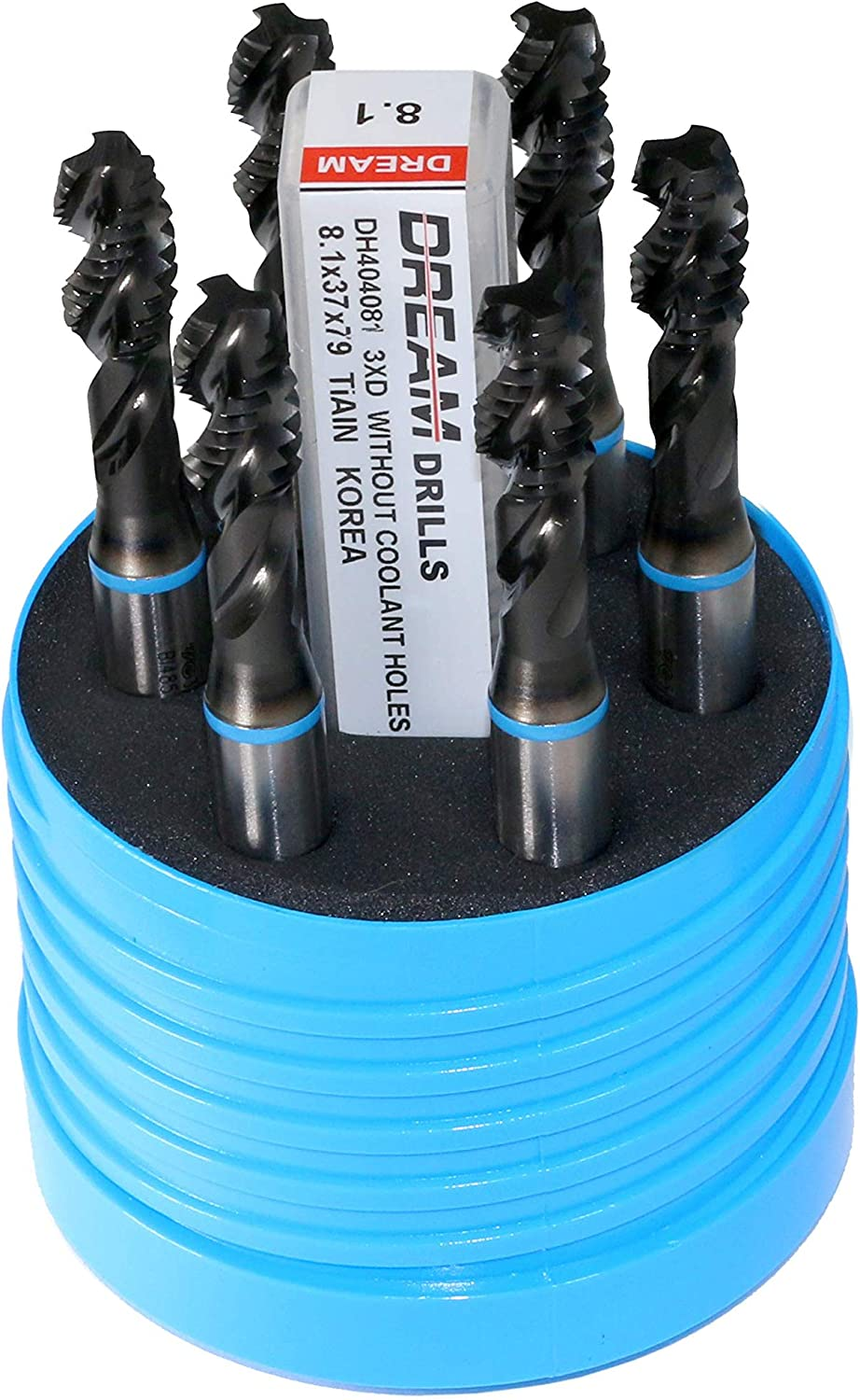 H3 YG-1 Blue Ring Drill and Tap Kit #10-24