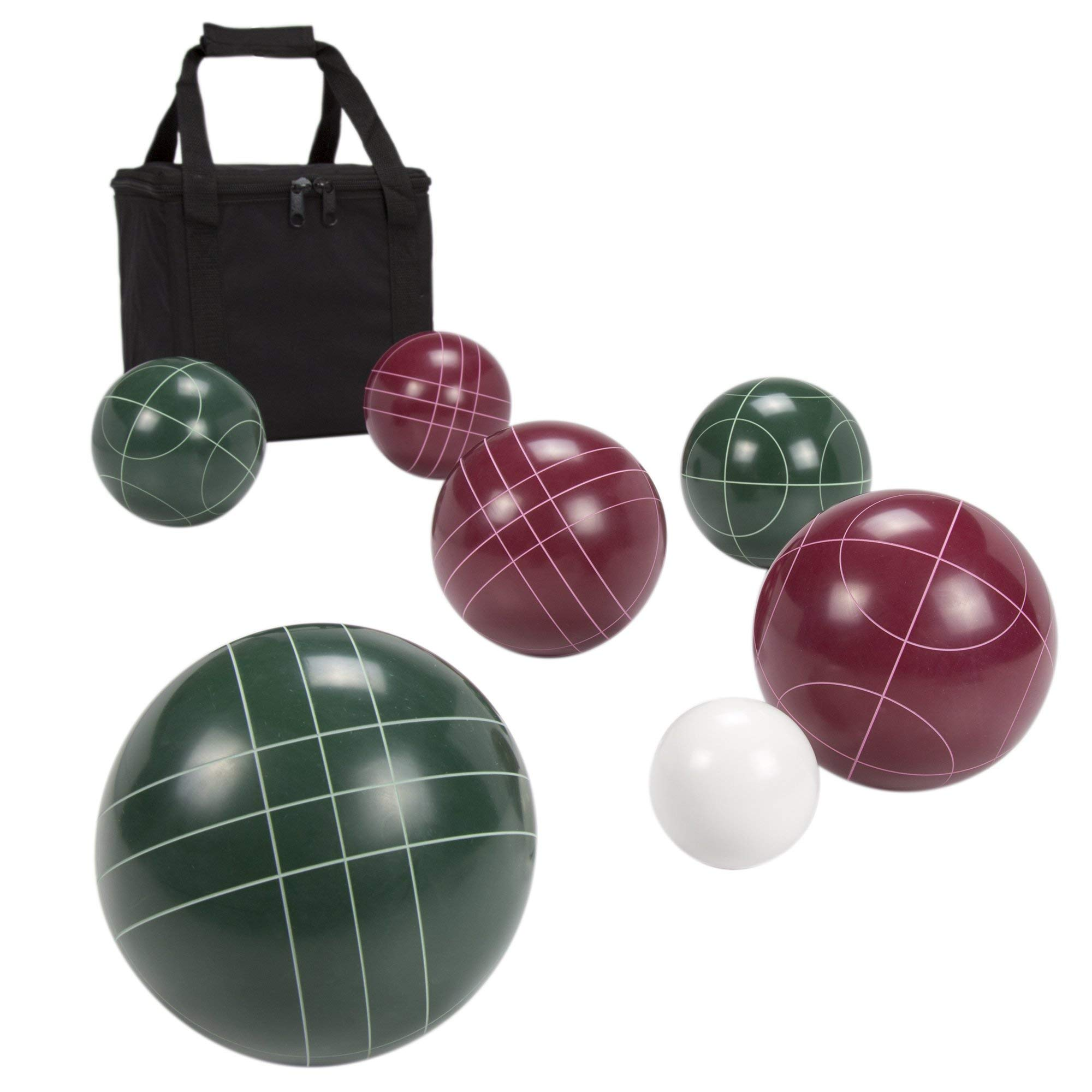 Hey! Play! Regulation Size Bocce Ball Set (Renewed) by Hey! Play!