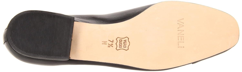VANELi Women's FC-313 Flat B0007SUNB6 4 B(M) US|Black Ecco Nappa