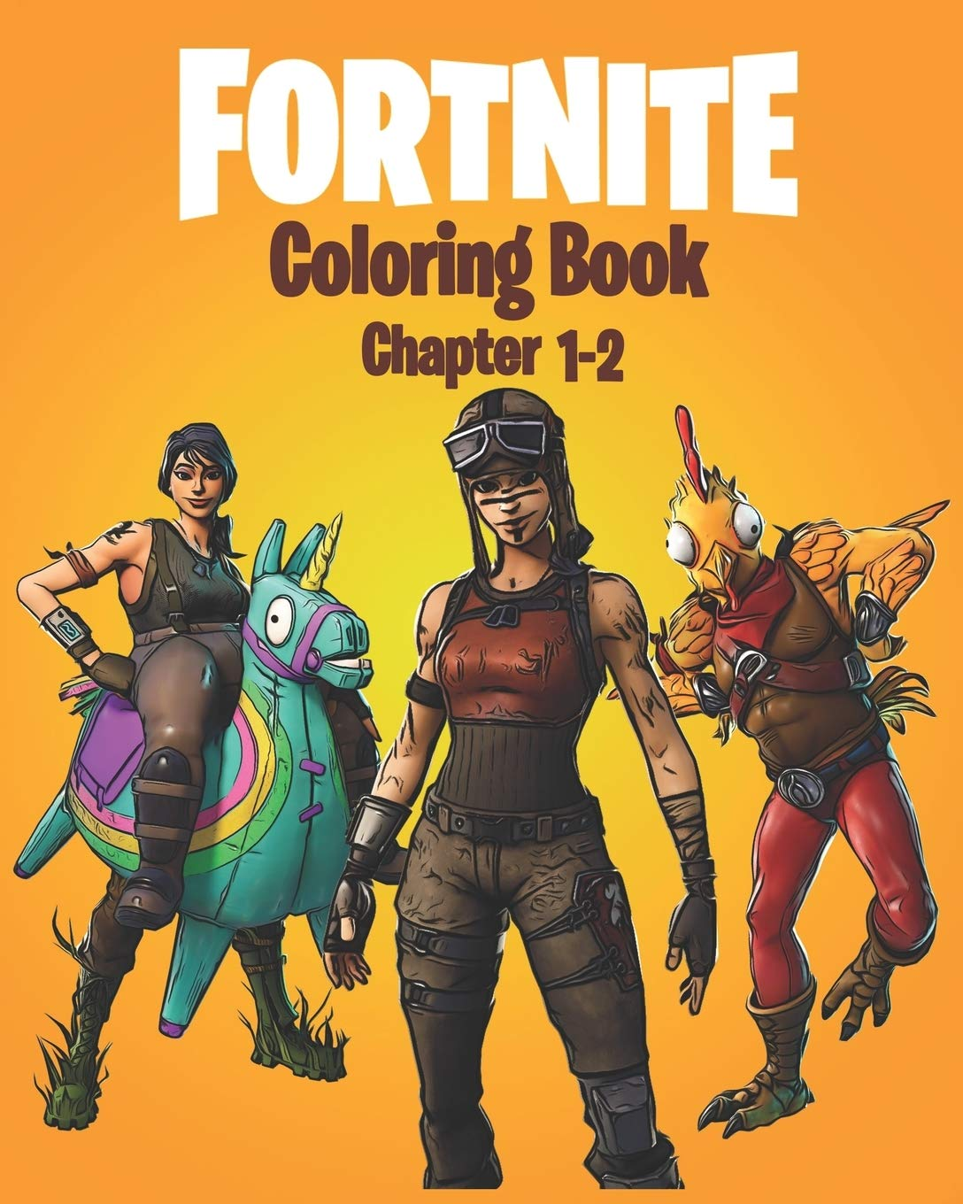 Fortnite Coloring Book Chapter 1 2 120 Coloring Pages For Kids And Adults Including Chapter 1 2 Skins Weapons And Game Items Mhq Coloring 9798622940606 Amazon Com Books