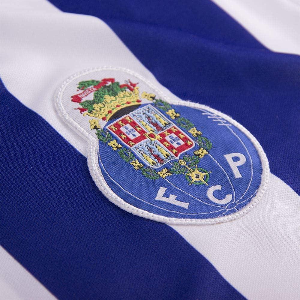 Copa FC Porto 2002 Retro Football Shirt Camiseta Retro con Cuello de f/útbol Hombre