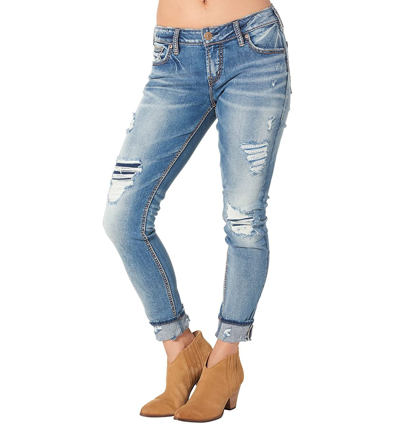 Silver Jeans Women's Girlfriend Jean
