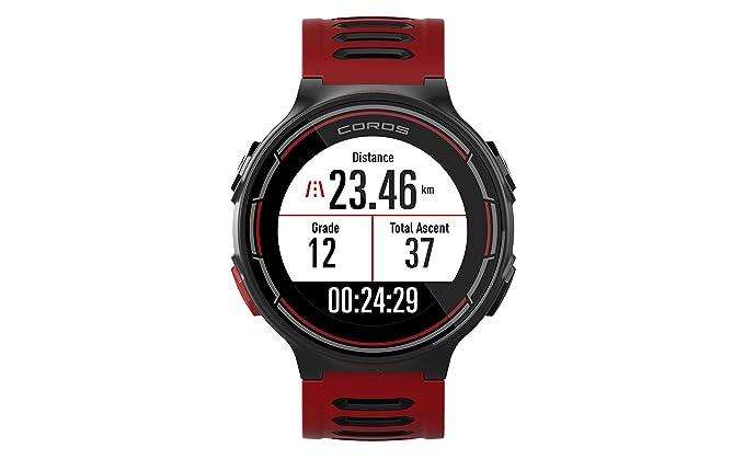 COROS Reloj Deportivo GPS Pace con monitorización de frecuencia cardíaca en la muñeca   Incluye Funciones de Correr, Ciclismo, natación y triatlón ...