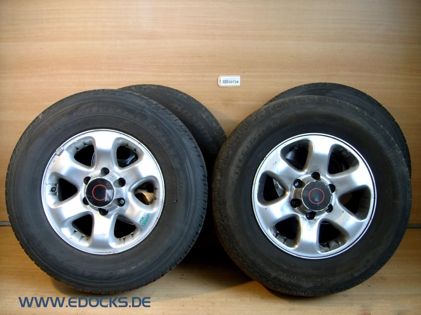 Satz Alufelgen Reifen 245 70 R16 16 Zoll Frontera B Original Opel Auto