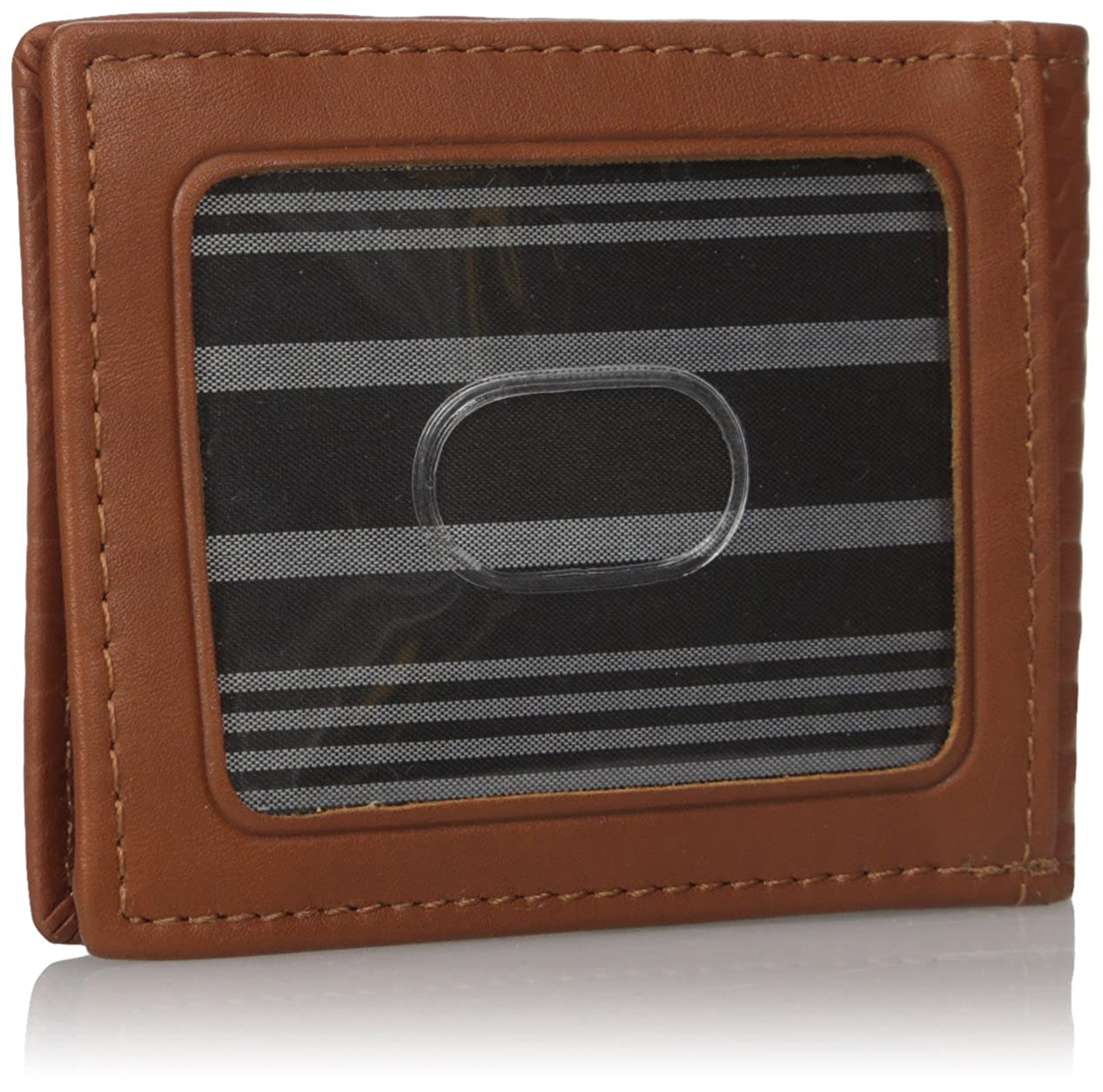 Buxton Mens Bellamy RFID Blocking Leather Front Pocket Slim Flip Wallet with Money Clip Brown One Size Buxton Men/'s Furnishings BR811.BR