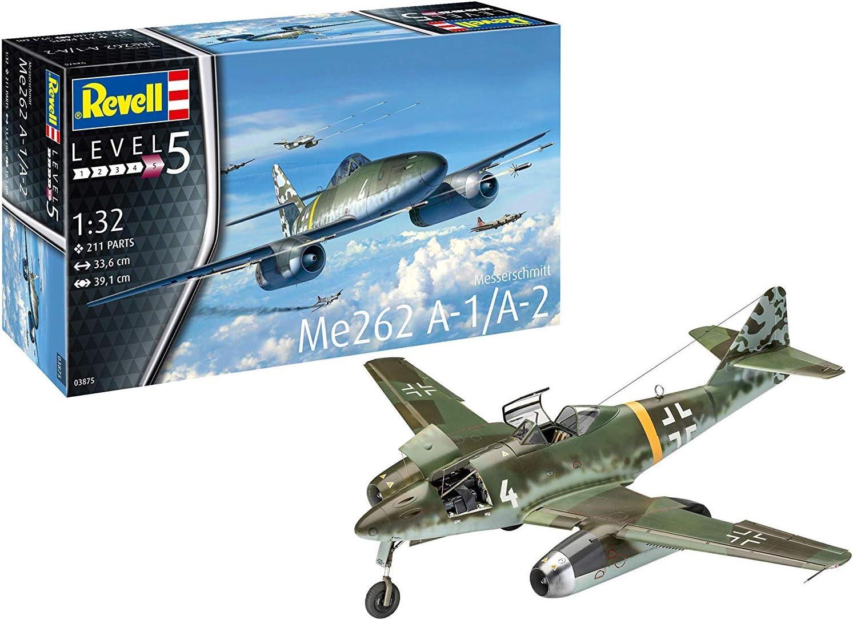1:144 Messerschmitt Me-262 A//S-92 Mark I Plastik NEU 2 IN 1 Jäger