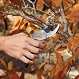 Fiskars 91095935J Steel Pruning Shears Bypass