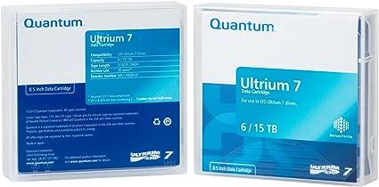 NEW Quantum MR-L7MQN-01 LTO7 Tape Ultrium7 Data Cartridge 15TB