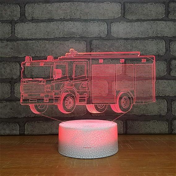 LED-Nachtlicht blinkender Touch-Schalter 7 Farben Schlafzimmer-Dekoration Beleuchtung f/ür Kinder USB-betrieben Ananas-3D-Illusionslampe Weihnachtsgeschenk