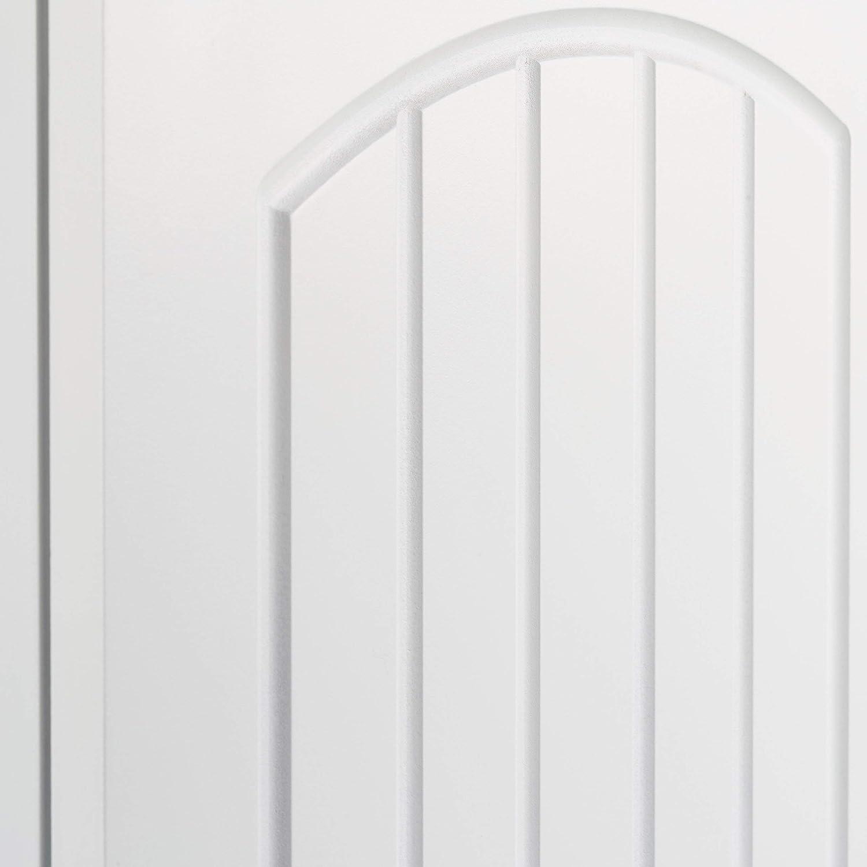 Relaxdays Armadietto da Parete per Il Bagno con 2 Ripiani Altezza x Larghezza x profondit/à in Pannello di Fibra a Media densit/à : 60/x 30/x 20,5/cm di Colore Bianco Dimensioni: