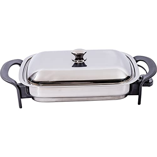 Precise-Heat-KTES4-16-Inch-Rectangular-Surgical-Stainless-Steel-Electric-Skillet