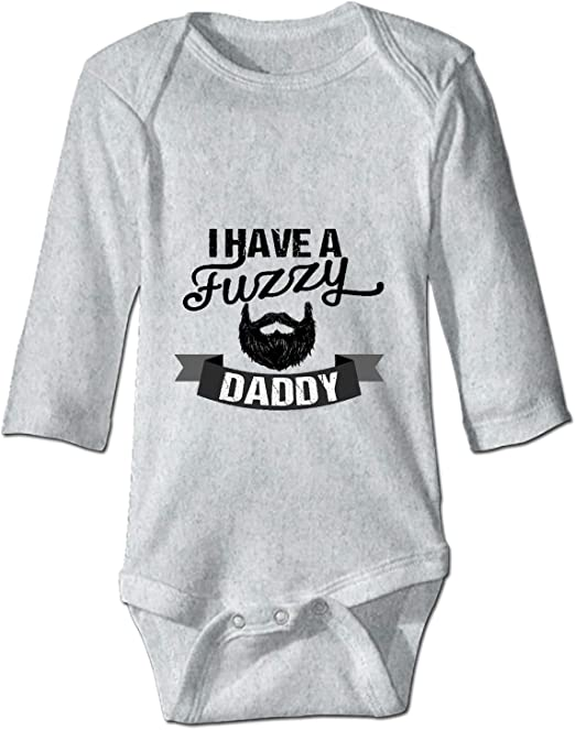 YSKHDBC Baby Long Sleeve Bodysuit Funny Baby Monkeys Infant Cotton Long-Sleeve Bodysuits