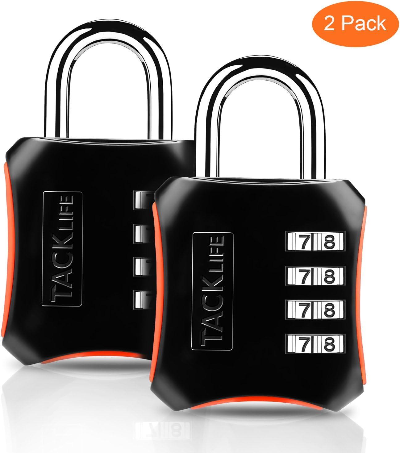 2 candados de combinación Tacklife por sólo 5,84€ con el #código: M9UQJOBC