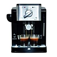 Solac Squissita New CE4491 Cafetera Express, 900 W, 0 Decibeles, Acero Inoxidable