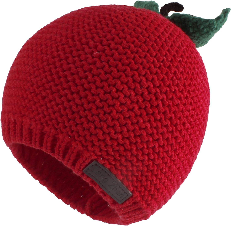 LANGZHEN Toddler Boys Girls Winter Hat Knit Beanie Hat for Fall Kids Baby Cute Warm Cap