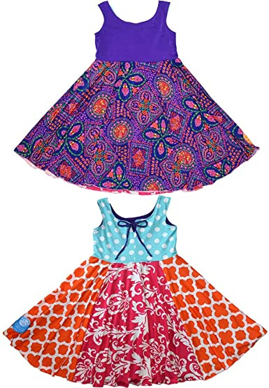 TwirlyGirl Little Girls Leggings Capri Style Fun Soft Pink with Dots USA Made