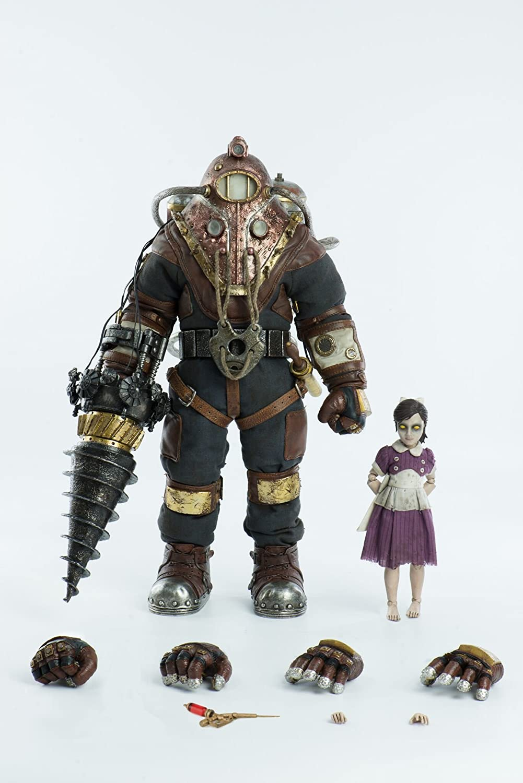 ThreeZero Bioshock: Subject Delta & Little Sister 1: 6 Scale Action Figure Two Pack