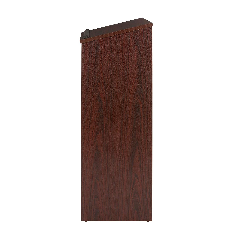 OEF Furnishings Floor Standing Lectern Podium Medium Oak
