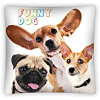 Home Decor Best Friends Funny Dog Perros – Funda de cojín (40 x 40 cm