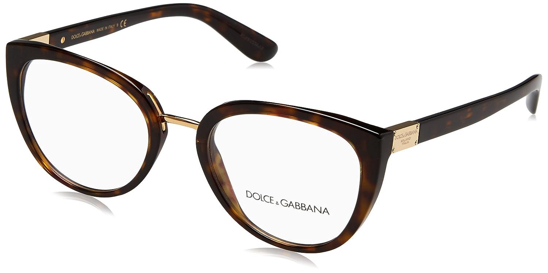 42835eb78b5 Dolce   Gabbana DG 3262 HAVANA women Eyewear Frames  Amazon.co.uk  Clothing