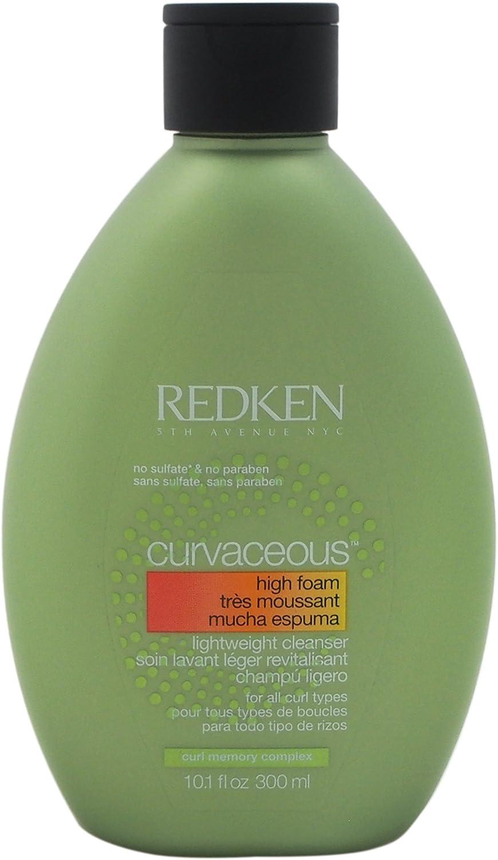 Redken Curvaceous Unisex Champú 300 ml - Champues (Unisex, Champú, Todo el pelo, Pelo rizado, 300 ml, Hidratante, Botella)