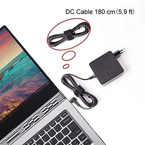 Topnma19V 3,42A 65W Cargador Portatil PC para ASUS X451M X551M F554LA F555L F551C F551M X54C X552C X554L X551C K50 K52F K53E A52F Fuente de ...