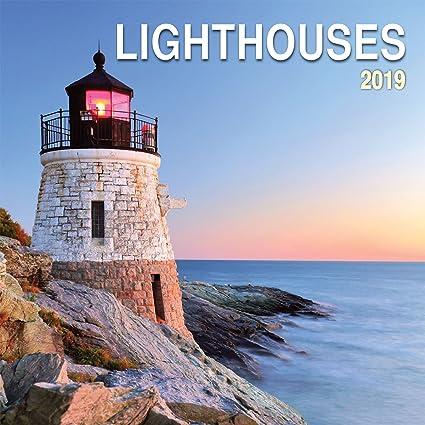 lighthouses 16 month 2011 wall calendar