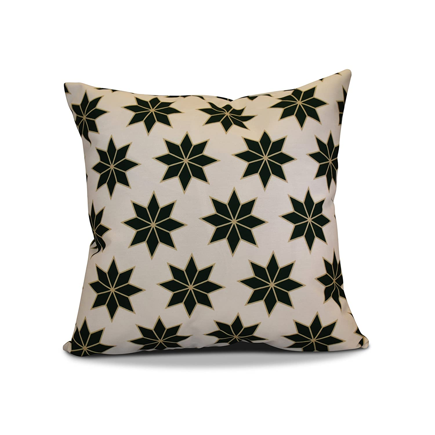 E by design PHGN668GR26TA6-26 26 x 26 inch, Decorative Holiday 26x26 Green