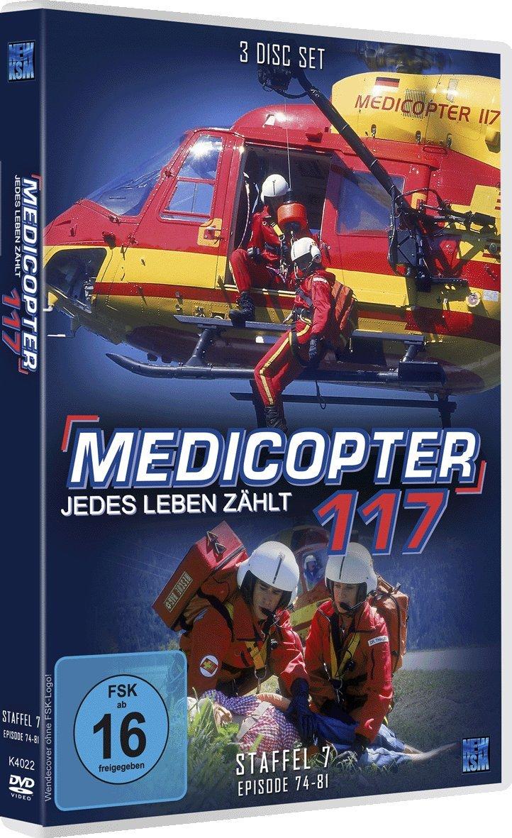 Medicopter 117 Staffel 7 Folge 74 81 4 Dvds Amazonde