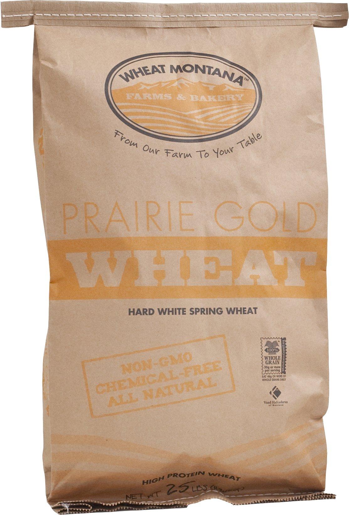 Wheat Montana Gold Wheat, Prairie, 25 Pound by Wheat Montana