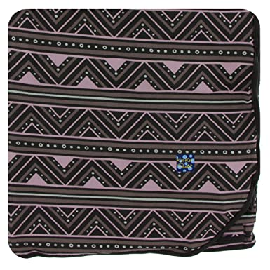 99fdd9e35 Amazon.com: Kickee Pants Print Throw Blanket - African Pattern, One ...