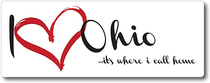 Top 10 Ohio Home Magnets