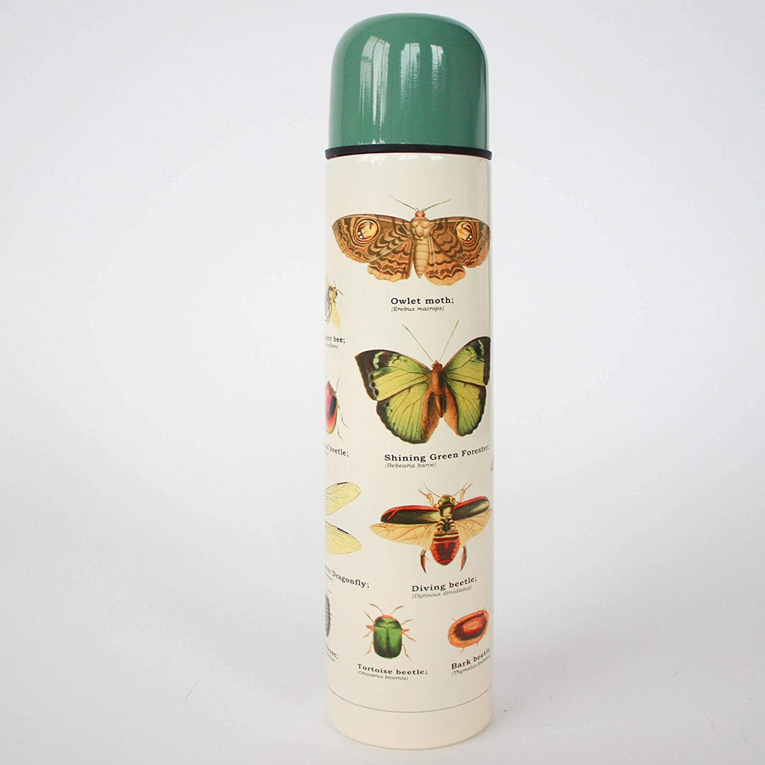 Gift Republic GR270098 Insects Flask Multicolor